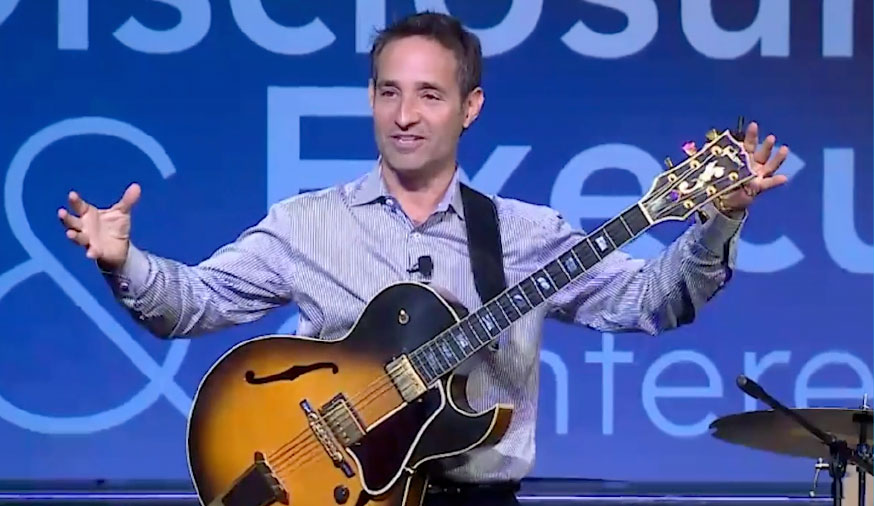 Incorporating Live Jazz in a Keynote